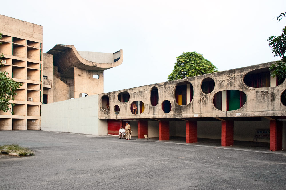 Chandigarh Assembly | Le Corbusier