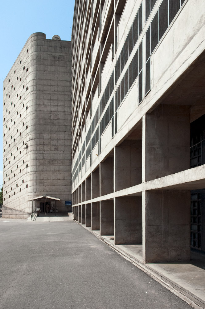 Chandigarh Secretariat Building | Le Corbusier