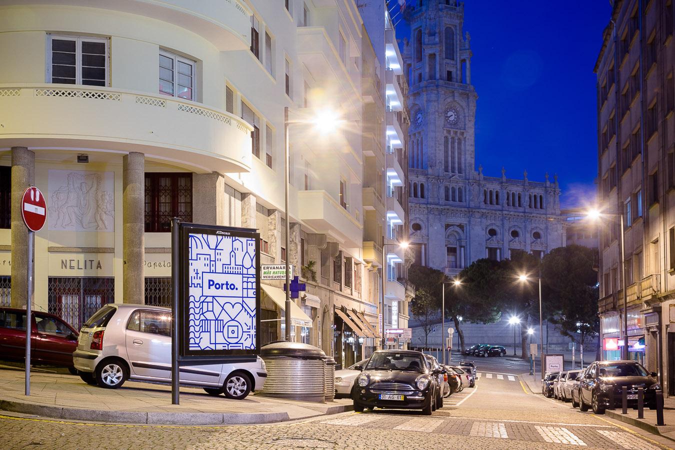 Nova identidade gráfica da cidade do Porto