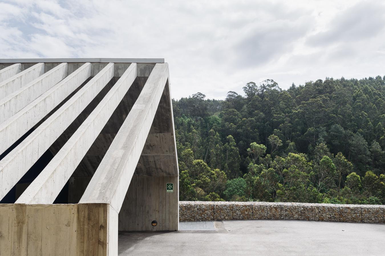 Arquitecto Pedro Geraldes Santos | Posto de observação de barragem EDP | Ermida