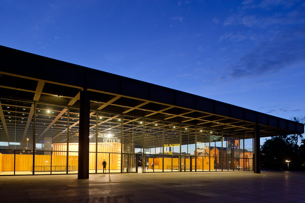 Ludwig Mies van der Rohe – Neue Nationalgalerie